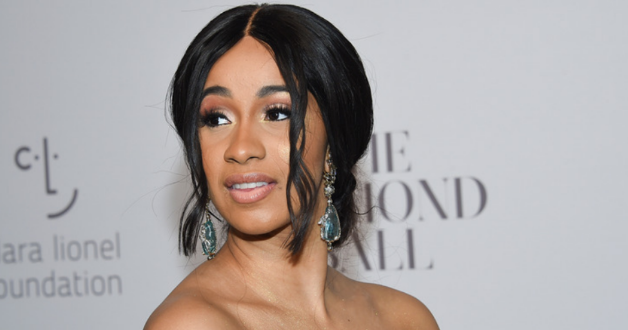 Cardi B at Diamond Ball