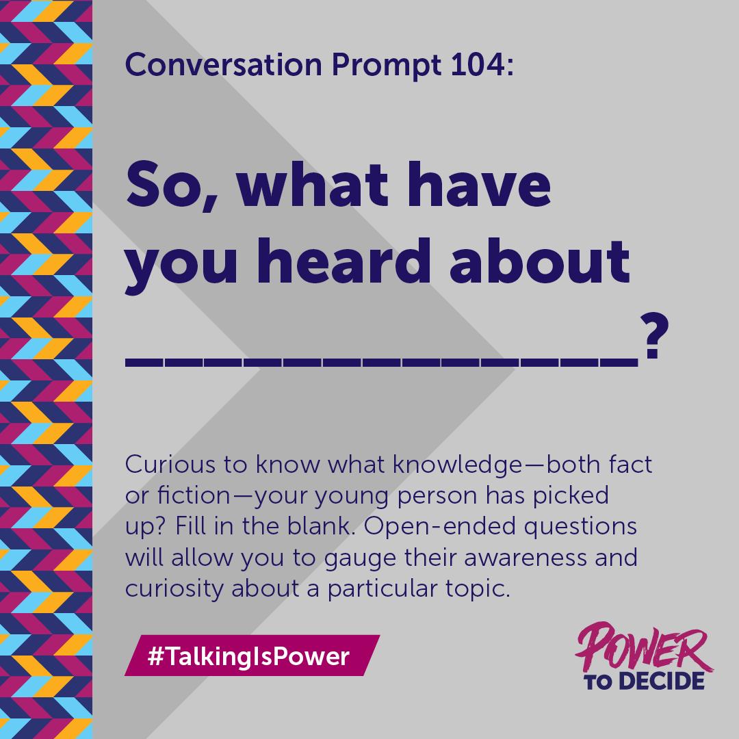 TalkingIsPower | Power to Decide
