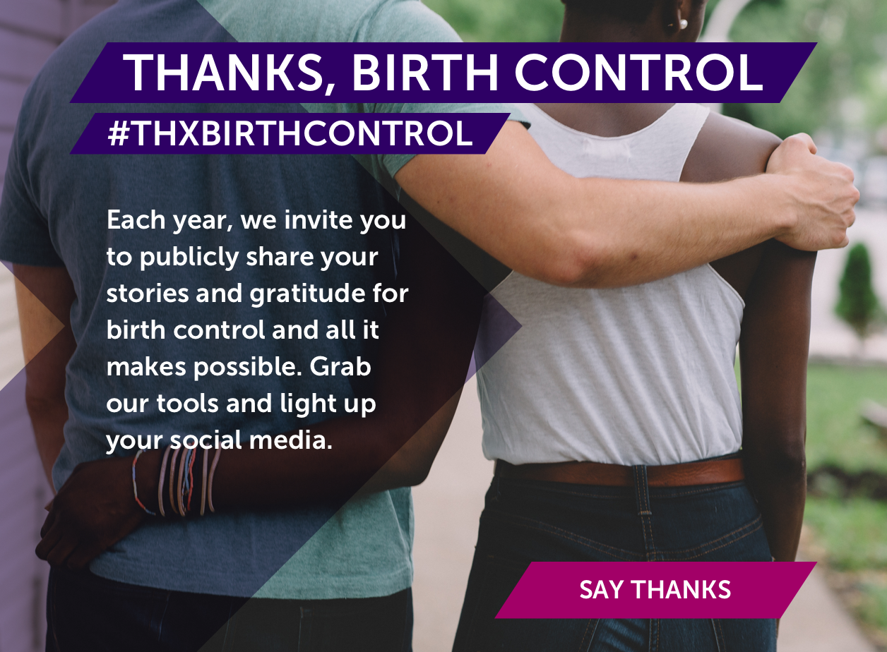Thanks, Birth Control