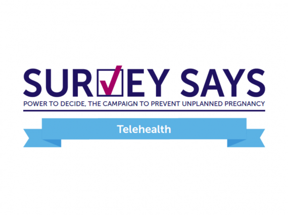 "The words, ""Survey Says: Telehealth"""
