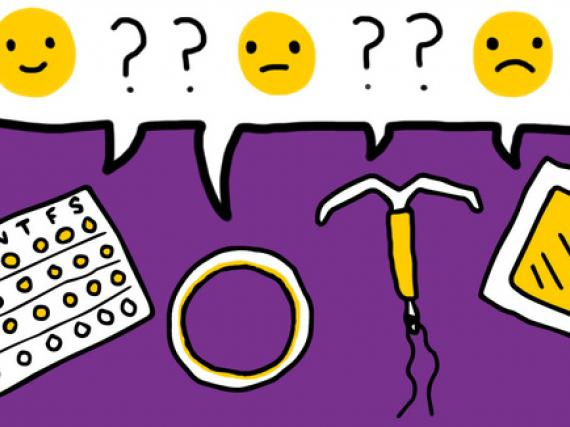 Does hormonal birth control cause depression? - Image