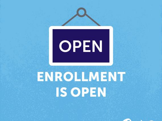 Open Enrollment is now open!