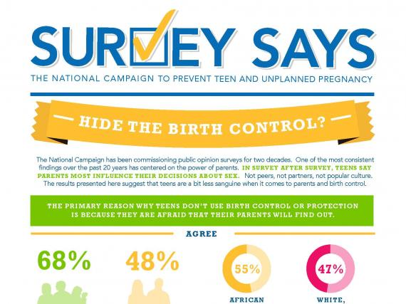 Survey Says: Hide the Birth Control (April 2015)