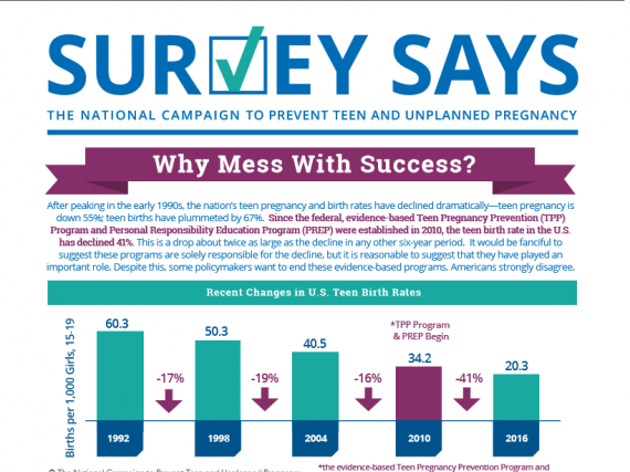 Survey Says: Why Mess With Success? (October 2017)