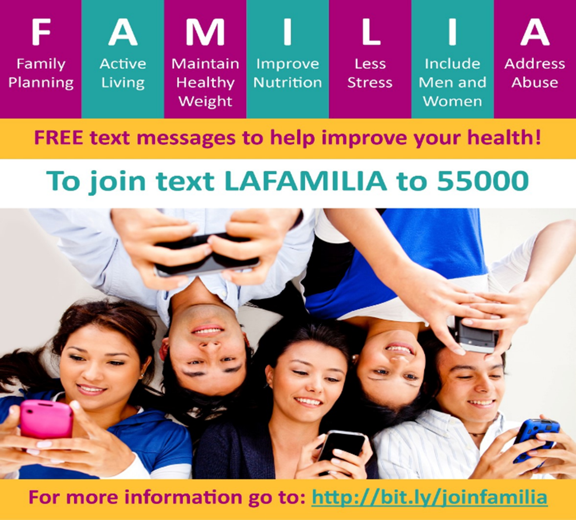 a poster for FAMILIA