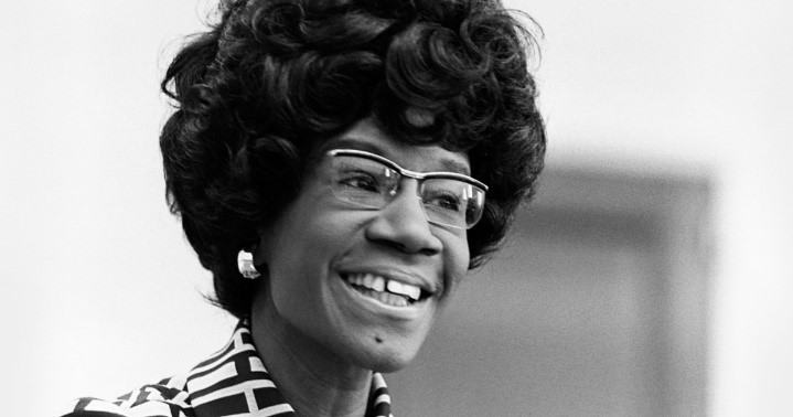 Headshot of Shirley Chisholm