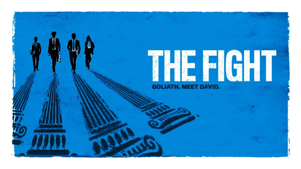 The movie poster for the movie The Fight.