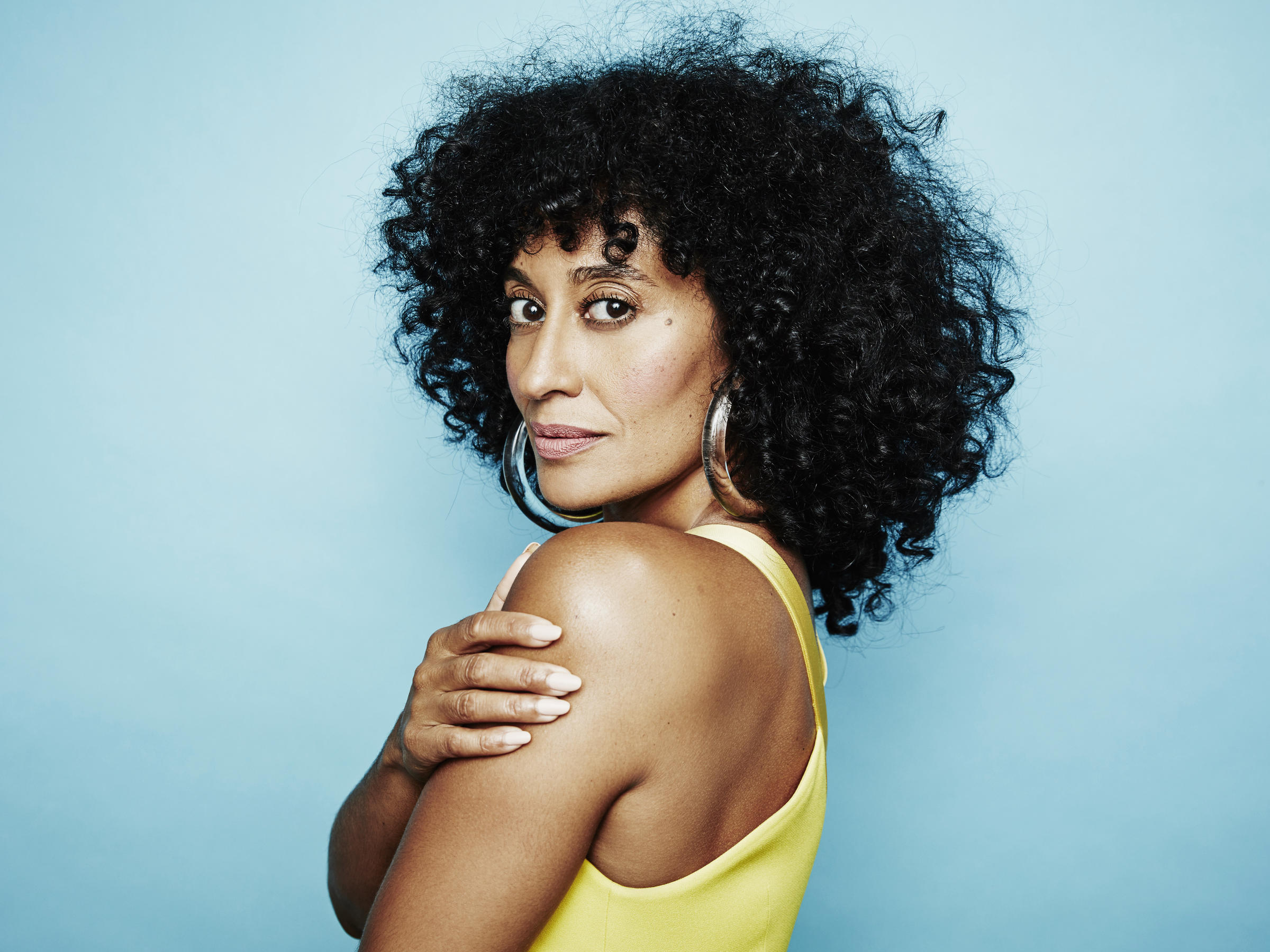 A portrait of Tracee Ellis Ross.