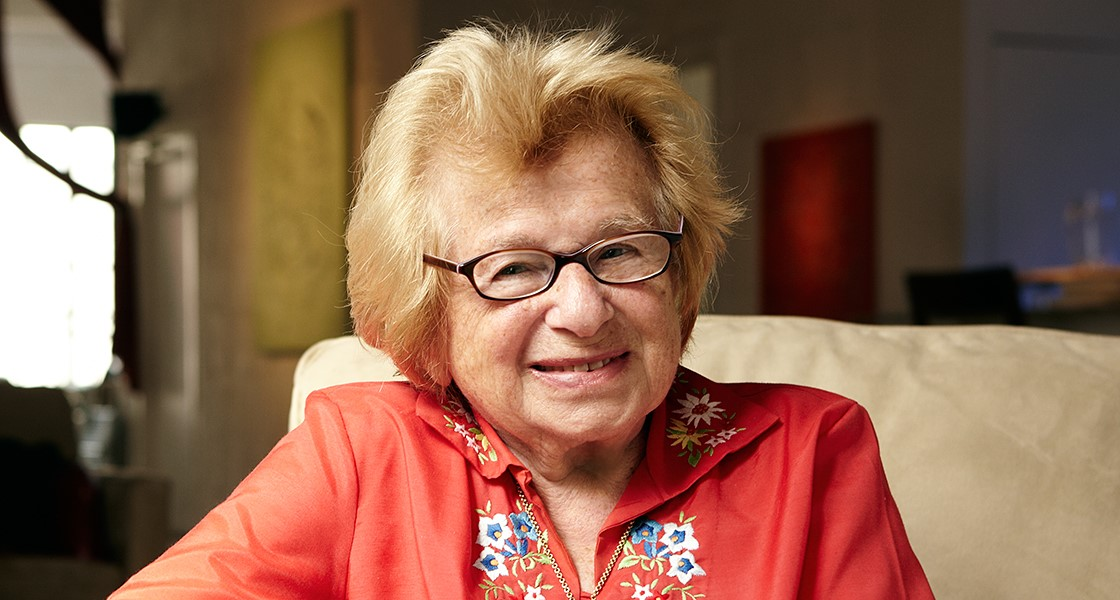 Headshot of Dr. Ruth.